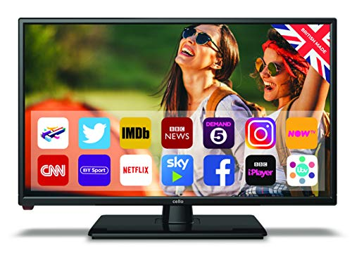 Cello C22230T2 Traveller 22? Traveller TV with Android and Satellite Tuner Full HD