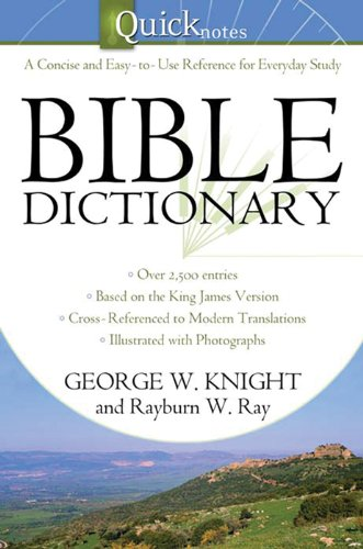The Quicknotes Bible Dictionary (QuickNotes Commentaries) (English Edition)