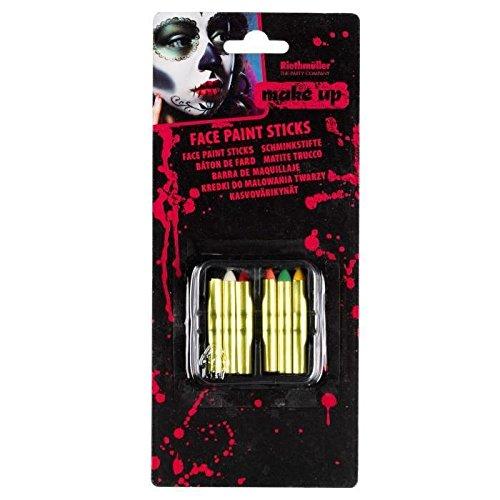 AMSCAN Bâton pour Maquillage Halloween - ()