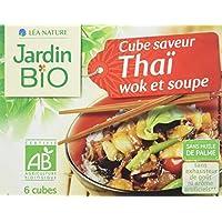 Jardin Bio Cube Saveur Thaï Wok/Soupe 66 g - Lot de 6
