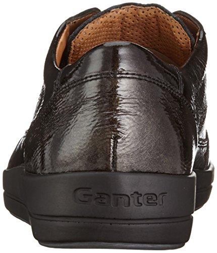 Ganter Giulietta, Weite G, Derby femme Gris - Grau (antrazit 6200)