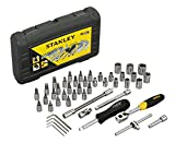 #9: Stanley STMT72794-8-12 1/4 Drive Metric Socket Set (46-Pieces)
