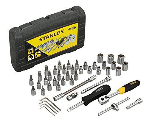 Stanley STMT727948 1/4 Drive Metric Socket Set (46-Pieces)