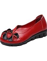 Vogstyle Damen Beiläufig Blumen Handgefertigt Schuhe