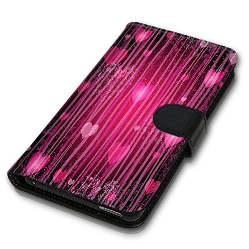 Wallet Book Style Flip Handy Tasche Case Schutz Hülle Schale Motiv Etui für Apple iPhone 4 / 4S - Variante UMV7 Design12 Design 9