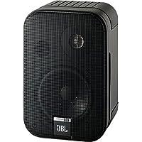 """JBL Control One - Altavoces monitor de audio satélite de estante (2-vías, Pareja, bocina de 100 mm/4""""), color cromado negro"""