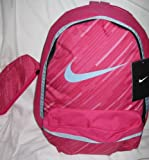 NIKE Kinder Rucksack Young Athlete Halfday BTS, fireberry/desert pink, 28 x 18 x 41 cm, BA4372-694, 0.00 euro/100 ml