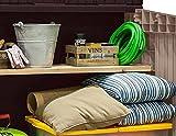 Keter 17197662 Mülltonnenbox Store it Out Midi, beige/braun, 845 L - 6