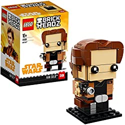 LEGO Brickheadz Han Solo, Star Wars, Multicolore, 41608