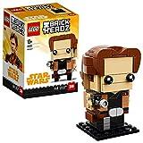 LEGO Brickheadz- Han Solo, Star Wars, Multicolore, 41608