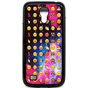 Galaxy S4Mini Coque Coussin Smiley Faces Funky Cool Espace emojis