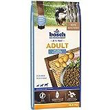 bosch HPC Adult mit Fisch & Kartoffel | Hundetrockenfutter für ausgewachsene Hunde aller Rassen, 1 x 15 kg