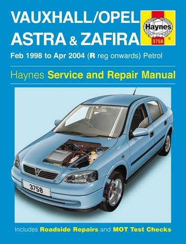 Vauxhall/Opel Astra & Zafira Petrol por Haynes Publishing
