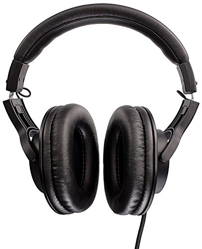 Audio-Technica ATH-M20x Over-Ear Professional Studio Monitor Headphones (Black) Image 4