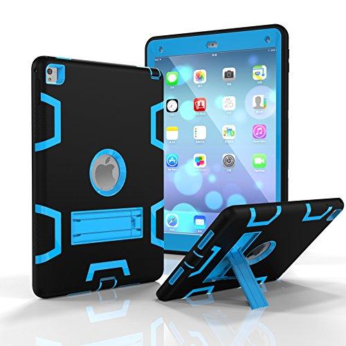 SUMOON SUMOON iPad Pro 9.7 Protective Case Unknown Tablet-Schutzhülle, Apple ipad pro 9.7, schwarz/blau, Stück: 1 (Apple Cube Ipad-ladegerät)