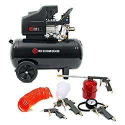 50 Litre Air Compressor & Tool Kit - 9.6 CFM, 2.5 HP, 50 LTR