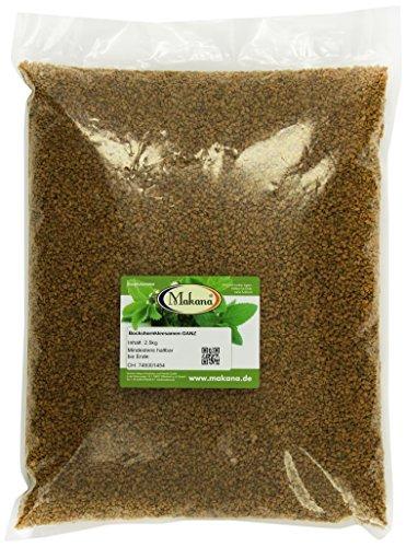 Makana Bockshornkleesamen aus Indien, ganz, 2,5 kg Beutel (1 x 2,5 kg)