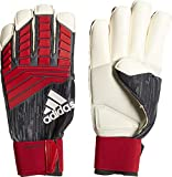 ADIDAS Predator Fingertip Torwarthandschuhe, Black/Red/White, 9