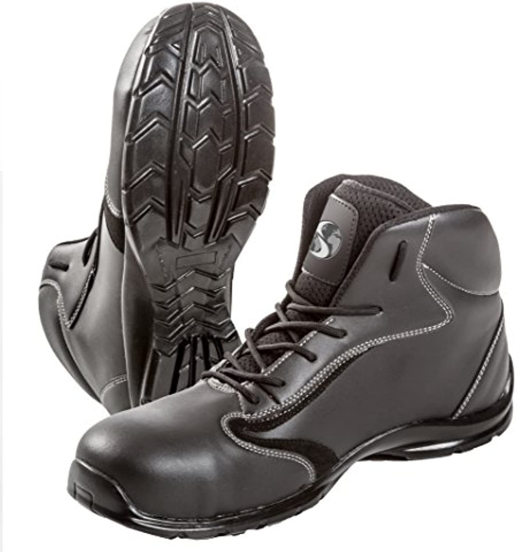 Seba 587 CE Zapato alta, Negro S3 SRC, talla 47