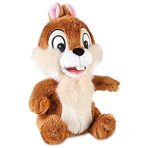 Disney, Chip n Dale, puces Mini Bean Bag Poupée Soft Plush - Mini-bean-bag