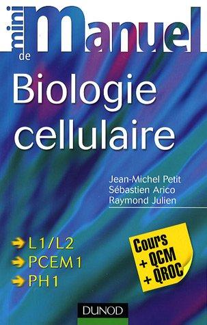 Mini manuel de biologie cellulaire : Cours + QCM/QROC