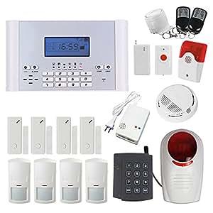 Alarme de Maison Téléphonique GSM avec Ecran LCD - Alarme Parlante