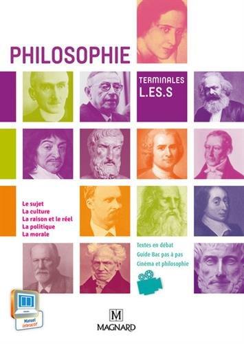Philosophie : Terminales L, ES, S
