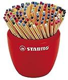 Stylo feutre pointe fine - STABILO point 88 - Pot céramique de 150 stylos-feutres - coloris assortis