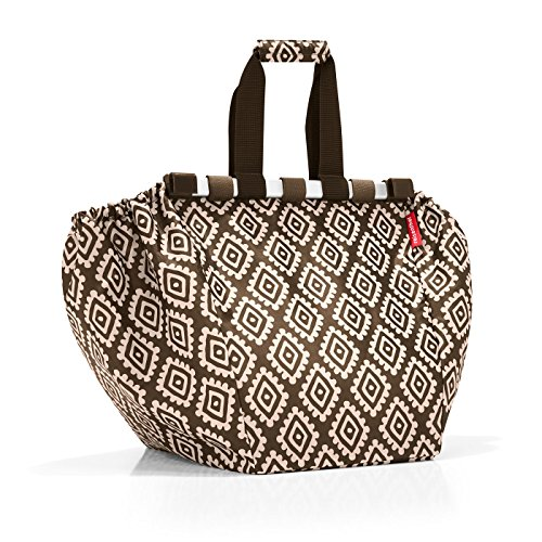 reisenthel easyshoppingbag Diamonds Mocha Maße: 32,5 x 38 x 51 cm/Volumen: 30 l