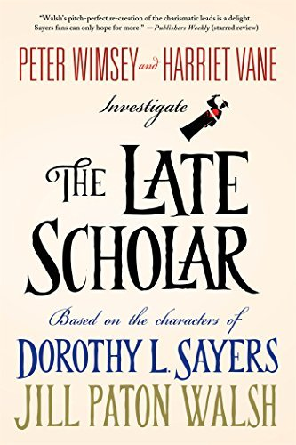 [ THE LATE SCHOLAR By Walsh, Jill Paton ( Author ) Hardcover Jun-17-2014