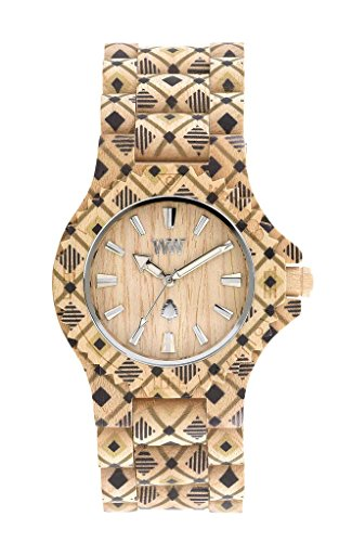 Orologio wewood donna Date pat beige
