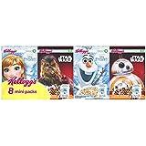 Kellogg's Céréale Disney Mini Paquet Star Wars/Reine des Neiges 8 paquet 212 g