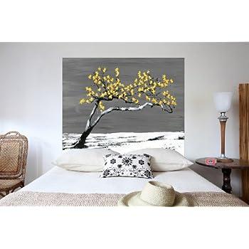 Tête de lit bois blanc vieilli 160 cm Comtesse: Amazon.fr: Cuisine ...