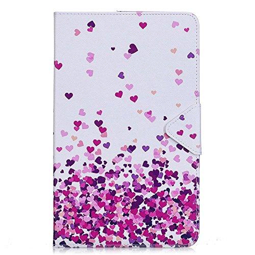 Samsung Tab A6 10.1 Hülle ,PU Ledertasche im Bookstyle Leder Schutzhülle für Samsung Galaxy Tab A 10.1 Zoll T580N Tasche Flip Case Cover Etui mit Standfunktion