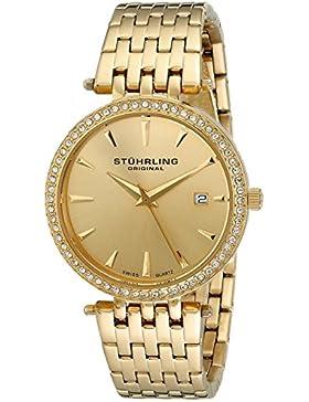 Stuhrling Original 579.03 Damen-Armbanduhr Analog Quarz Edelstahl