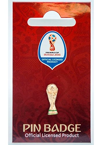 Réplica de copa del mundial de FIFA 2018, dorado, 20 mm