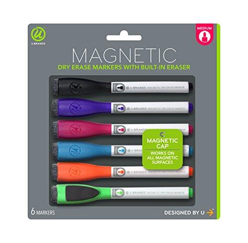 u-marques-faible-odeur-marqueur-effacable-a-sec-magnetique-avec-gommes-medium-point-couleurs-assorti