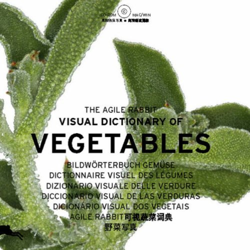 The agile Rabbit visual dictionary of Vegetables (1Cédérom)