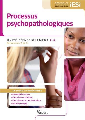 Diplôme d'État Infirmier - DEI - UE 2.6 Processus psychopathologiques - Semestres 2 et 5