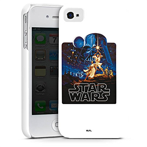 Apple iPhone X Silikon Hülle Case Schutzhülle Star Wars Merchandise Fanartikel Episode IV Premium Case glänzend