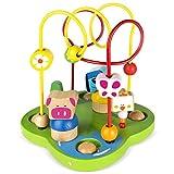 Best Juguetes para niños de 1 años - ColorBaby Centro de actividades de madera (42140) Review