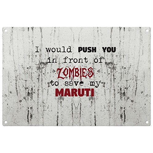 save-my-maruti-from-the-zombies-vintage-decorative-wall-plaque-ready-to-hang