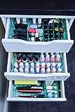 MissOrg - Divisori per cassetti Ikea Alex 5 cassetti, in Acrilico Glass Look