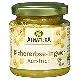 Alnatura Bio Brotaufstrich Kichererbse mit Ingwer, vegan, 6er Pack (6 x 120 g)