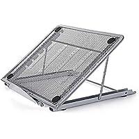 Disipador de calor de metal ajustable para computadora portátil, soporte para tableta, soporte para computadora portátil, soporte para tableta con disipador de calor para computadora portátil
