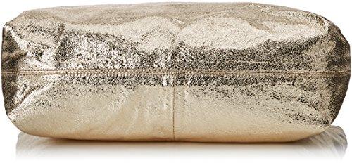 XTI 85791, Borsa a spalla donna 11x33x45 cm (W x H x L) argento Size: 11x33x45 cm (W x H x L) Oro