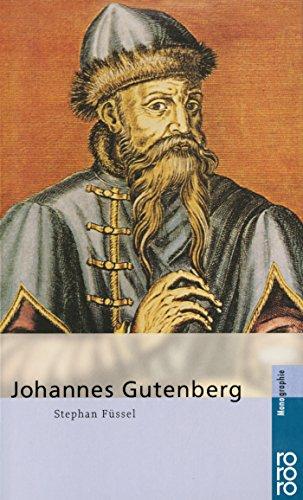 Johannes Gutenberg Buch-Cover