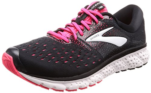 Brooks Glycerin 16, Scarpe da Running Donna, Multicolore (Black/Pink/Grey 070), 38 EU