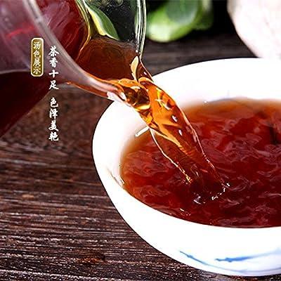 Inovey Yunnan Menghai PU-Erh Thé 357 G De Perte De Poids PU-Erh Gâteau PU-Erh Thé Mûr