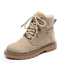 73c66d9a48dca Amazon.es  Piel - Botas   Zapatos para mujer  Zapatos y complementos